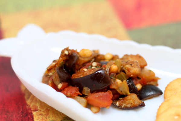 Eggplant Caponata