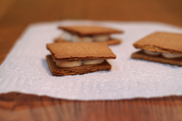 PB and Chocolate Smores