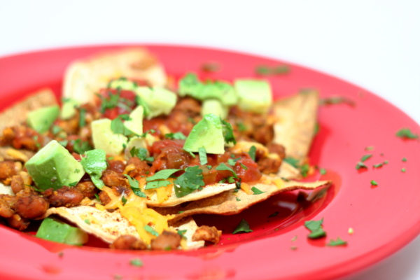 Lunch Nachos
