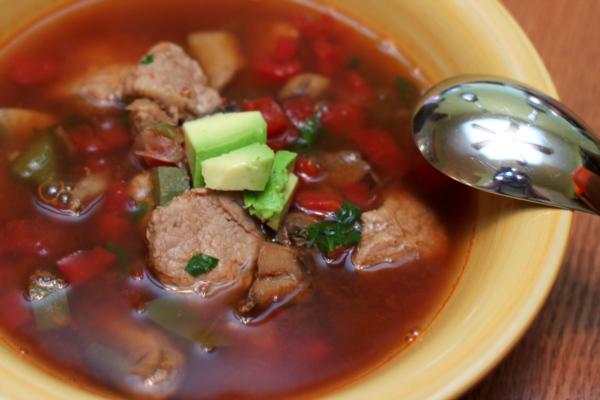 Southwest Pork Soup