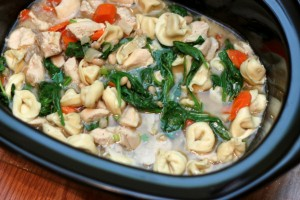 Chicken Tortellini Stew (Crock Pot)